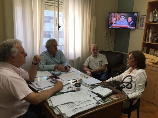 Encuentro de funcionarios y autoridades del Partido Demócrata