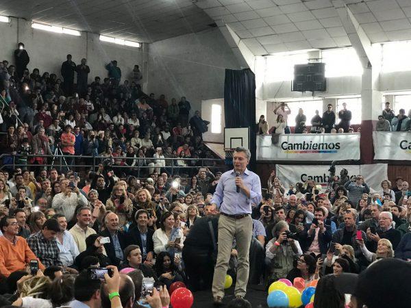 Eduardo Santamarina presente en el lanzamiento de Cambiemos