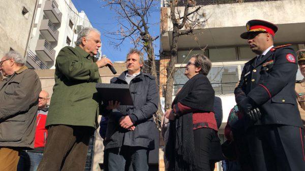 Santamarina homenajeó a los Bomberos Voluntarios de San Telmo