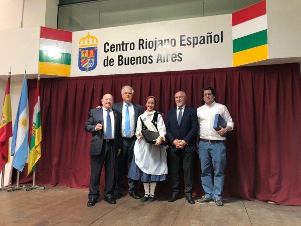 Dip. Santamarina celebró el 95 Aniversario del Centro Riojano Español de Buenos Aires